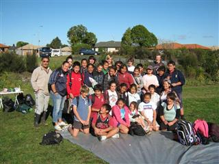 Papakura Normal School Planting Day